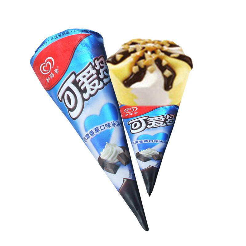 和路雪 可爱多甜筒冰淇淋雪糕 香草味冰激凌 67g*12