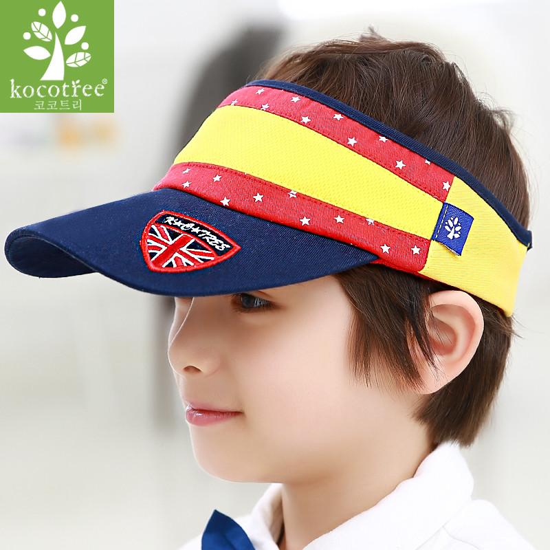 韩国儿童帽子男女童大童男孩夏天鸭舌棒球遮阳小学生太阳帽