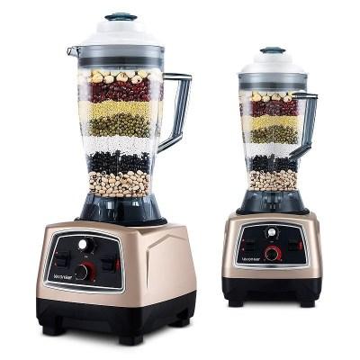 lecon/乐创 KYH-333豆浆机料理机现磨无渣商用大容量果汁破壁机搅拌机4L容量