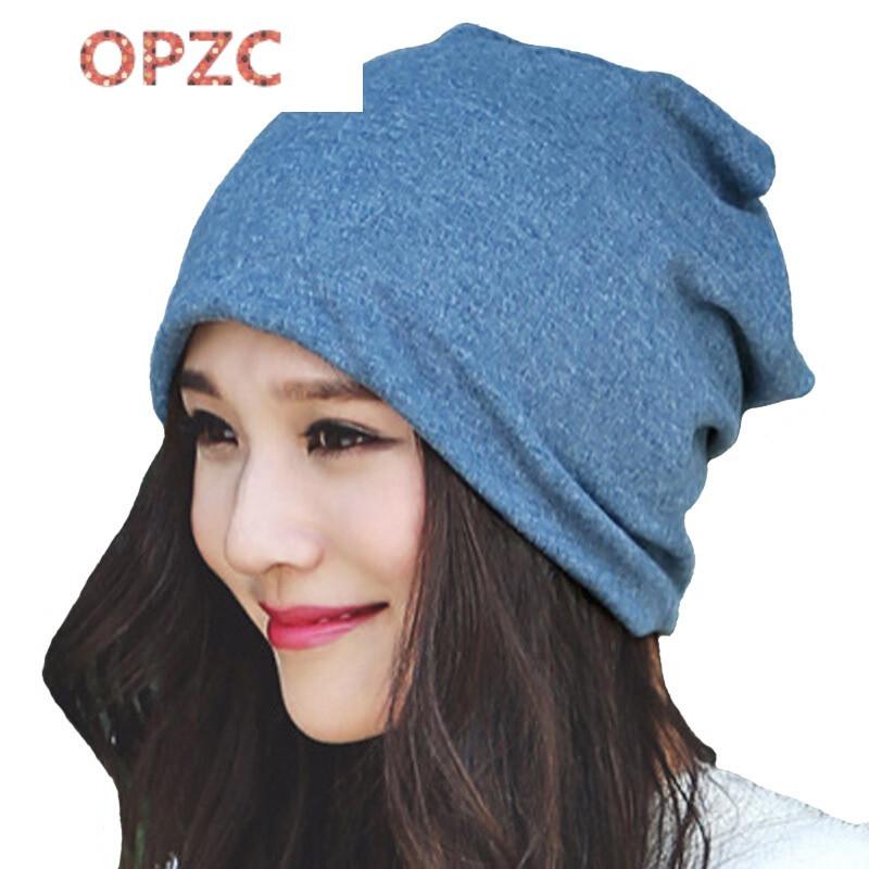 opzc时尚孕产妇帽子做坐月子帽春秋冬款产后两用包头巾女大码