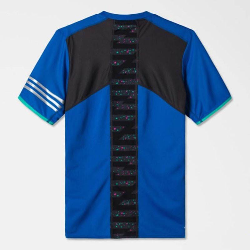 adidas阿迪达斯短袖男子夏季运动训练足球服t恤ap6108