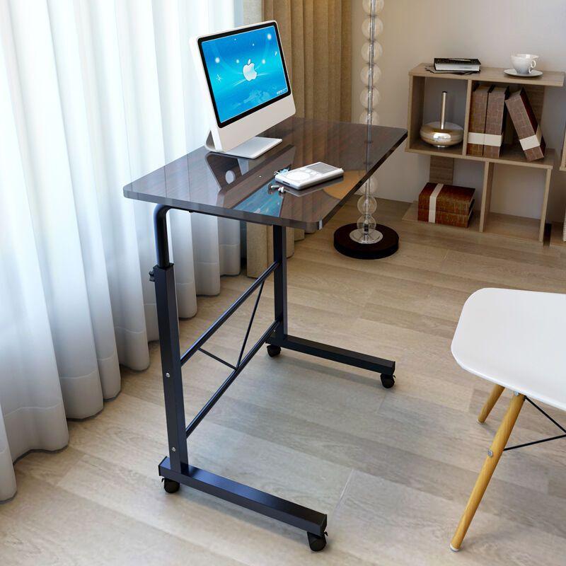 卧室笔记本电脑桌床边桌边几电话几沙发边桌可移动办公桌可升降桌子