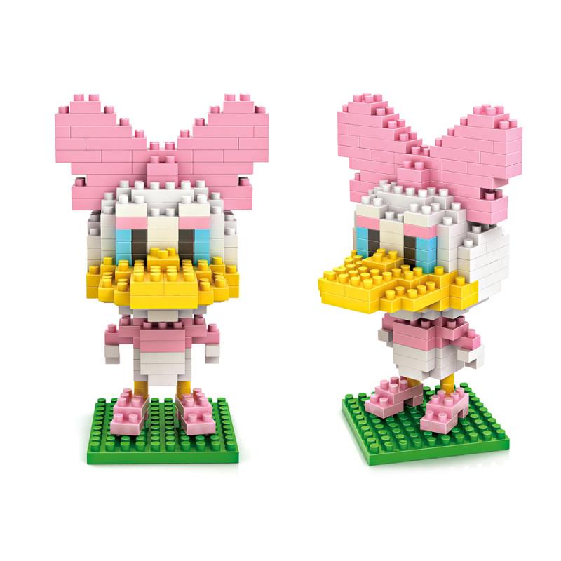 新款小颗粒拼装玩具 米奇老鼠系列 黛西玩具积木微钻颗粒积木-9416