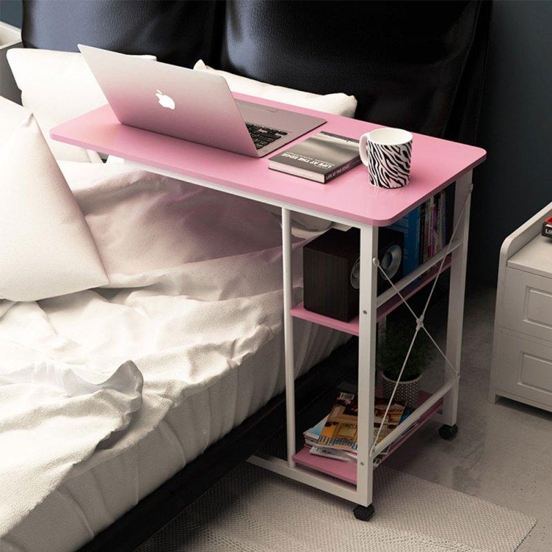 佰泽 笔记本床边电脑桌懒人台式家用床上简易书桌简约