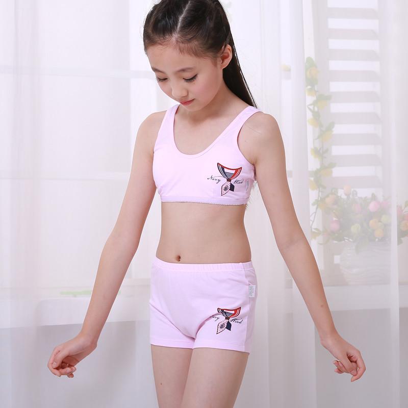 少女内衣小背心-12岁女孩图片