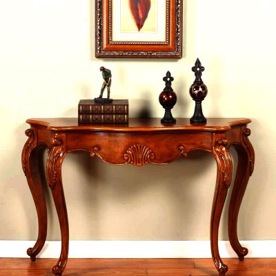 蘭博灣(RAMBOY)客廳家具 美式鄉村 玄關 歐式實木 玄關臺 美式玄關桌