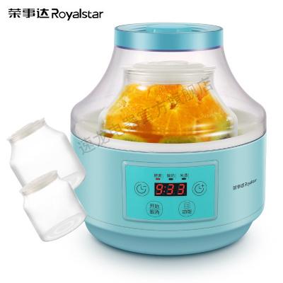 榮事達(Royalstar)酵素機酸奶機家用多功能全自動加厚玻璃帶分杯米酒機立體發酵2升