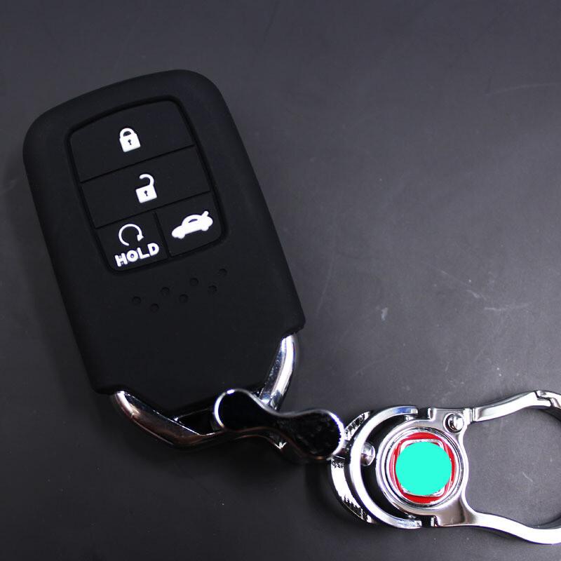 拉运适用于本田16款全新思域钥匙包十代思域钥匙套硅胶2016雅阁保护套