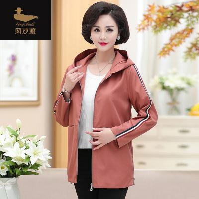 妈妈装夹克外套女40岁502019新款中老年气质