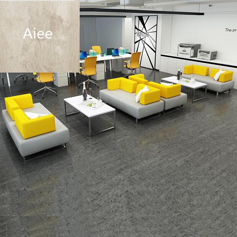 aiee办公家具休息区沙发茶几组合接待休闲皮商务现代简约办公室沙发