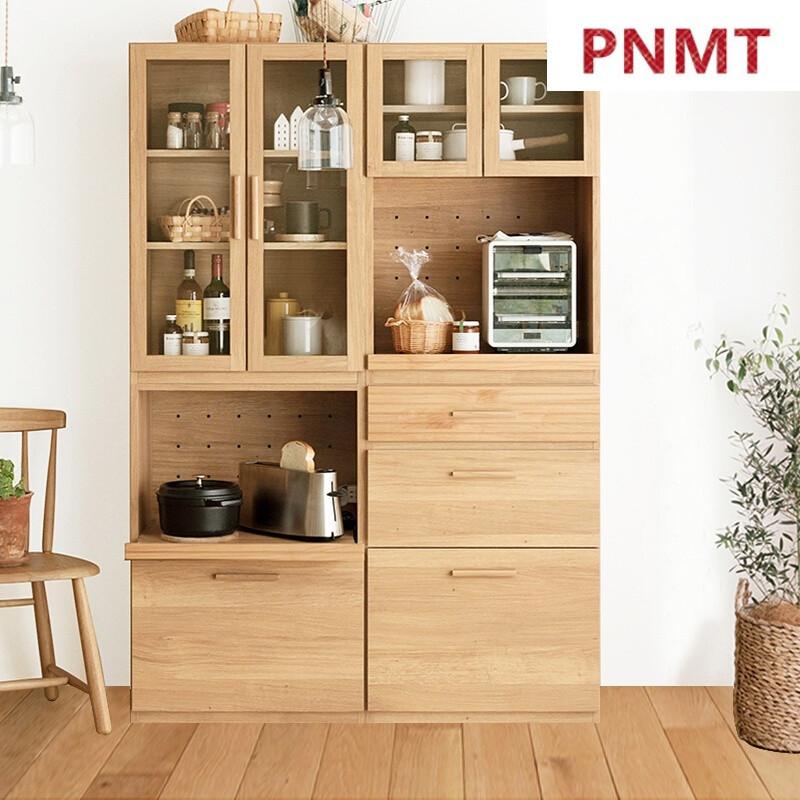 pnmt北欧餐边柜日式餐厅边柜厨房橱柜碗柜储物柜子带门组合柜简约现代图片