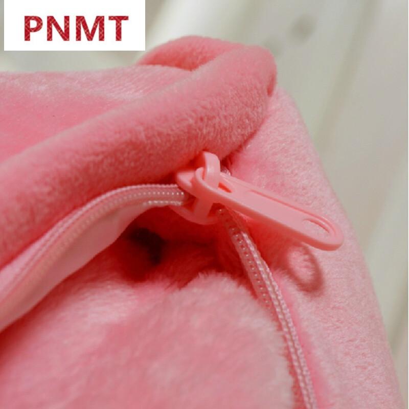 手捂靠垫被折叠三合一毯子大号办公室空调被红色阿狸三合一抱枕毯子