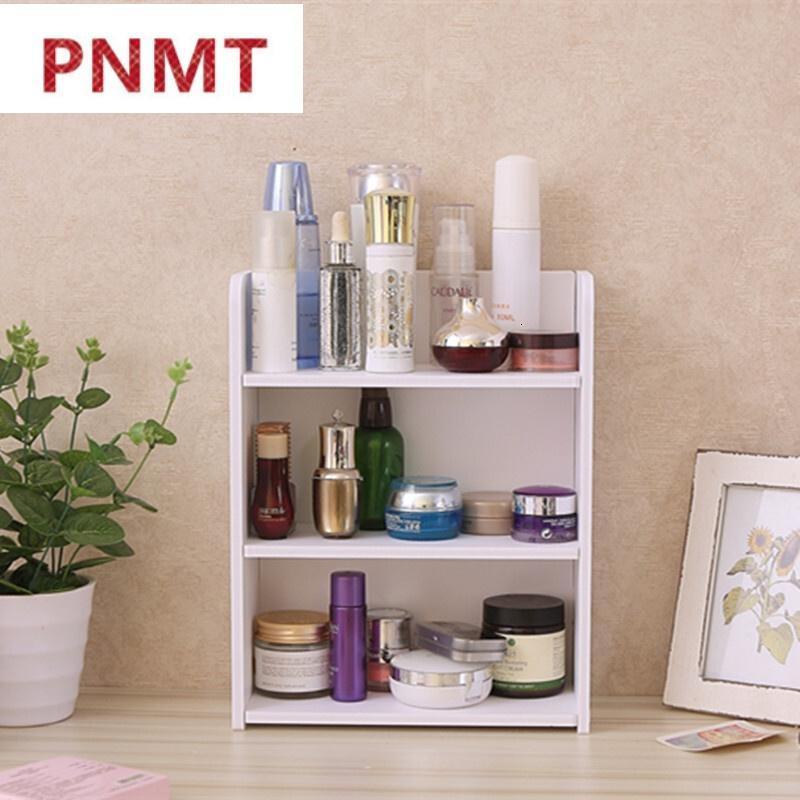 杂货木质创意多层桌面收纳盒化妆品实木置物架柜杂物办公桌图片