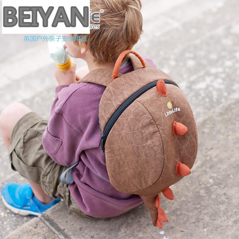 beiyanfdh英国d动物造型大童背包小孩书包可爱卡通幼儿园包