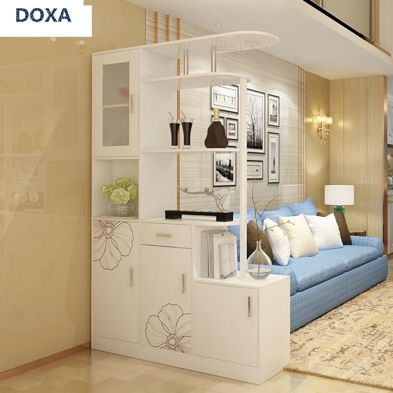 doxa简约现代玄关柜客厅酒柜隔断柜进门厅柜装饰屏风鞋柜阳台储物柜子图片