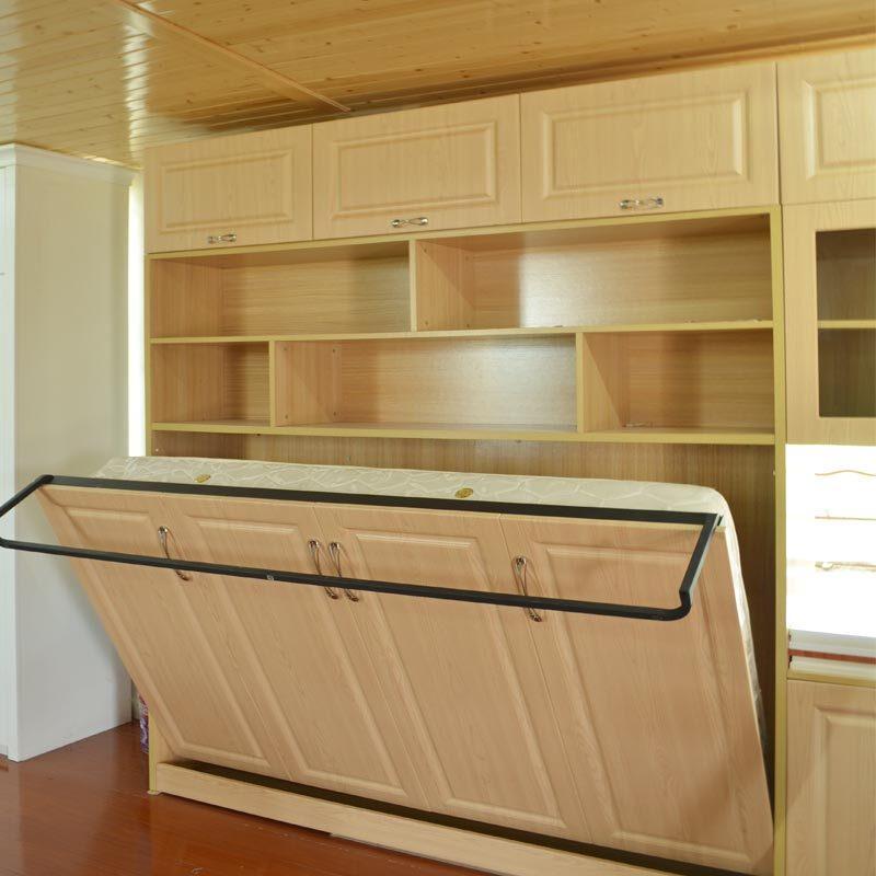 doxa定制家具定做隐形折叠床组合衣柜床书柜正侧翻隐藏壁柜子床翻板床