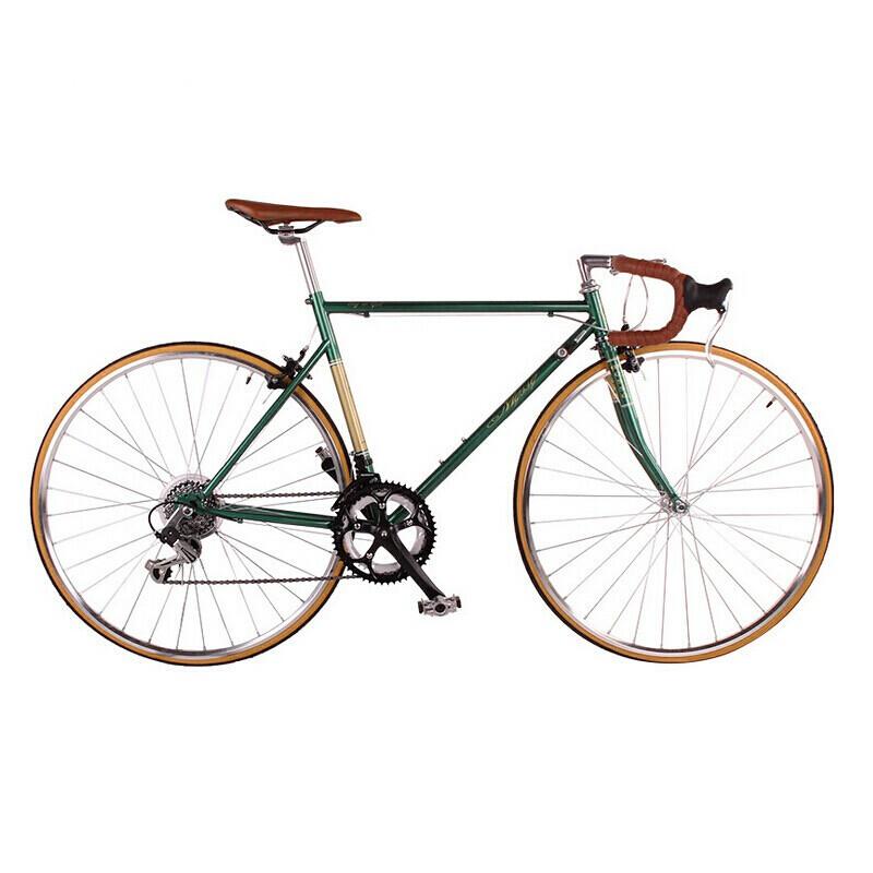 14速公路自行车跑车复古跑车