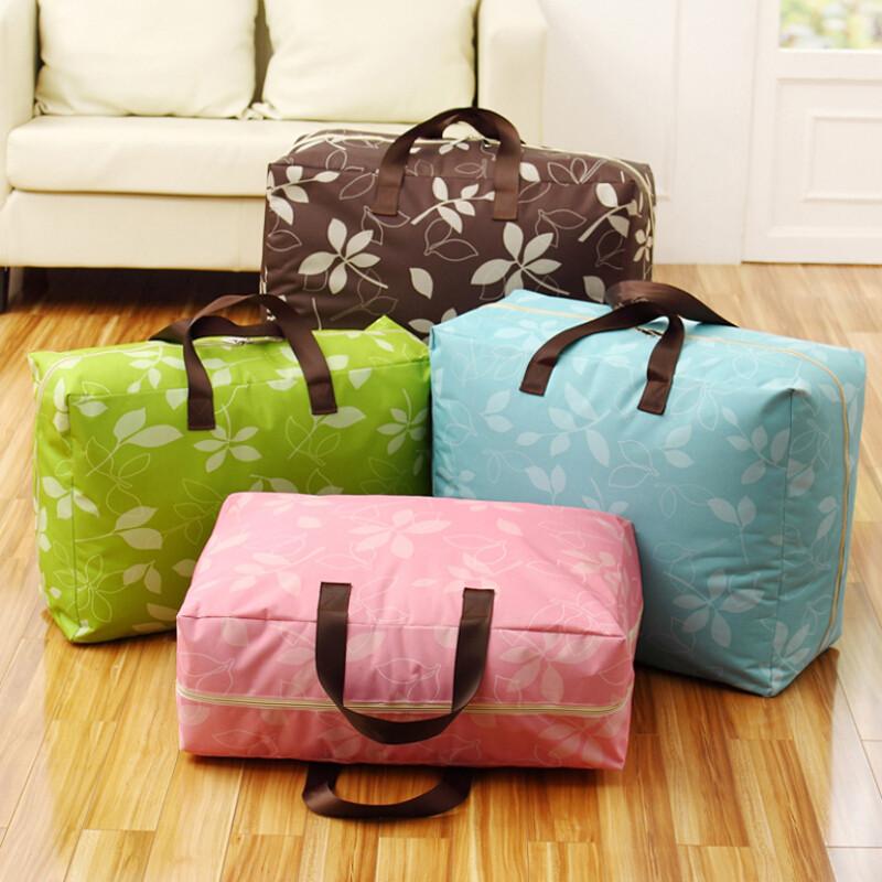 牛津布袋子装幼儿园被子收纳袋棉被袋特大号衣物整理袋行李搬家袋n