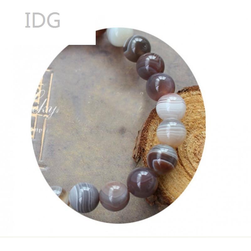 idg2017新款波斯玛瑙手链手串花纹流畅品质个性百搭
