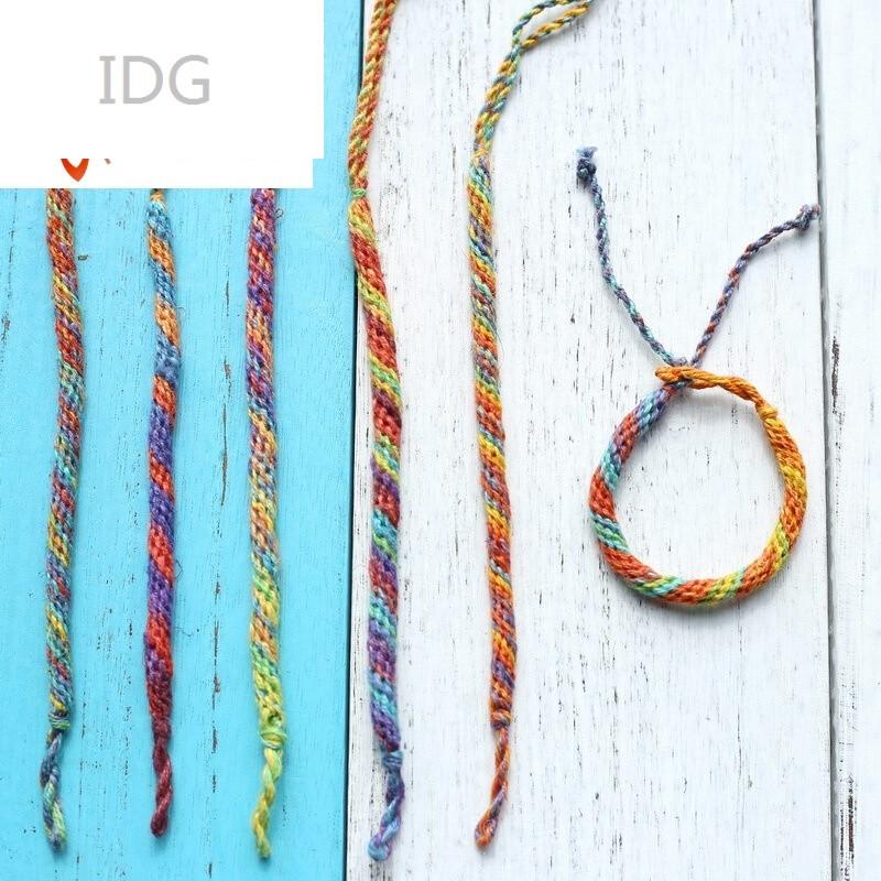 idgn-056尼泊尔纯手工编织手绳手链民族特色复古文艺
