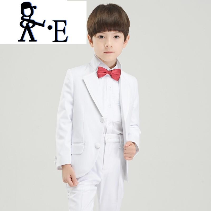 唯帝歌 男童婚礼西装套装花童礼服春款大童西服儿童钢琴演奏礼服