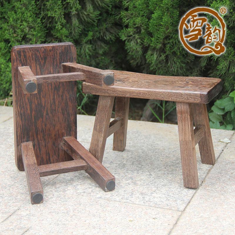 鸡翅木换鞋凳穿鞋凳子实木小板凳实木仿古矮凳实木小凳子红木凳子