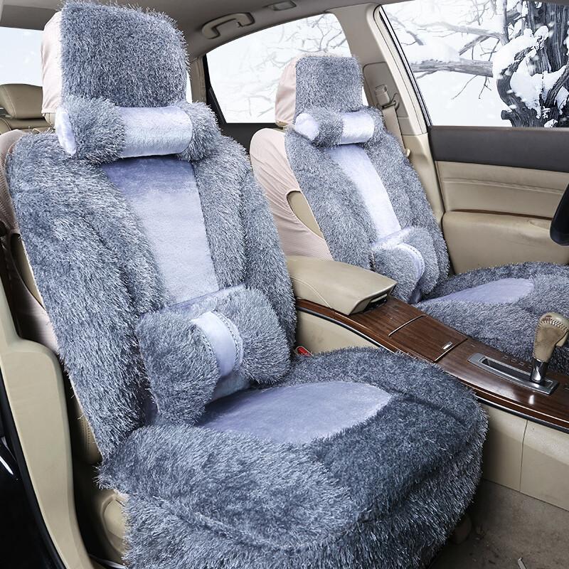 汽车坐垫冬季毛绒全包汽车座套四季通用别克凯越英朗大众速腾帕萨特