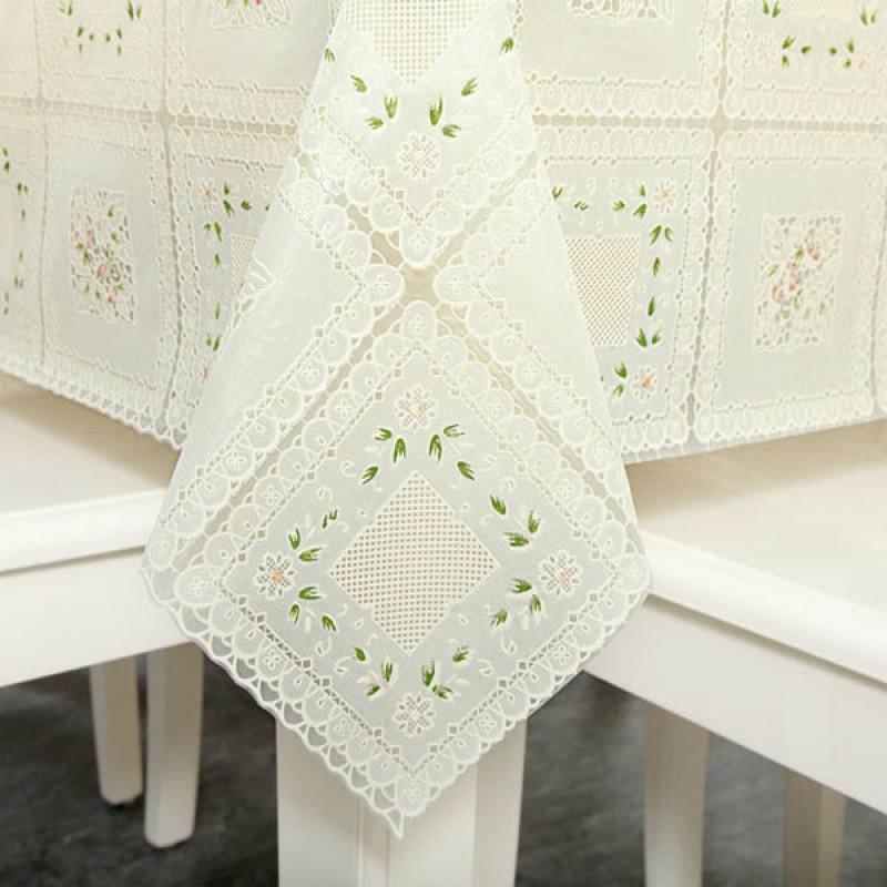定制桌布欧式花纹餐桌布pvc防水防烫防油隔热免洗长方形茶几台布