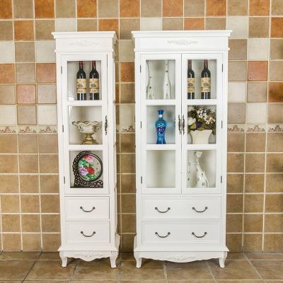 欧式现代简约实木酒柜五斗柜收纳柜储物柜餐边柜客厅柜小酒柜包邮