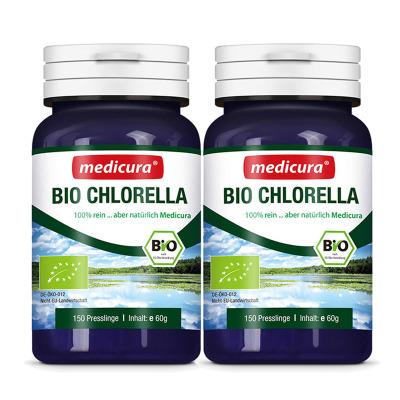 【2瓶裝】德國進口每德(Medicura) 天然有機螺旋藻片 片劑 150粒 調養腸胃 增強免疫 調節免疫 養胃食品