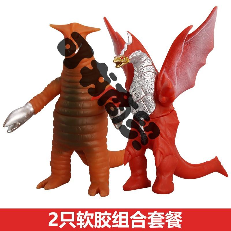 可书从前的我 超银河大怪兽联盟 奥特曼怪兽软胶玩具 美尔巴 男孩礼物图片