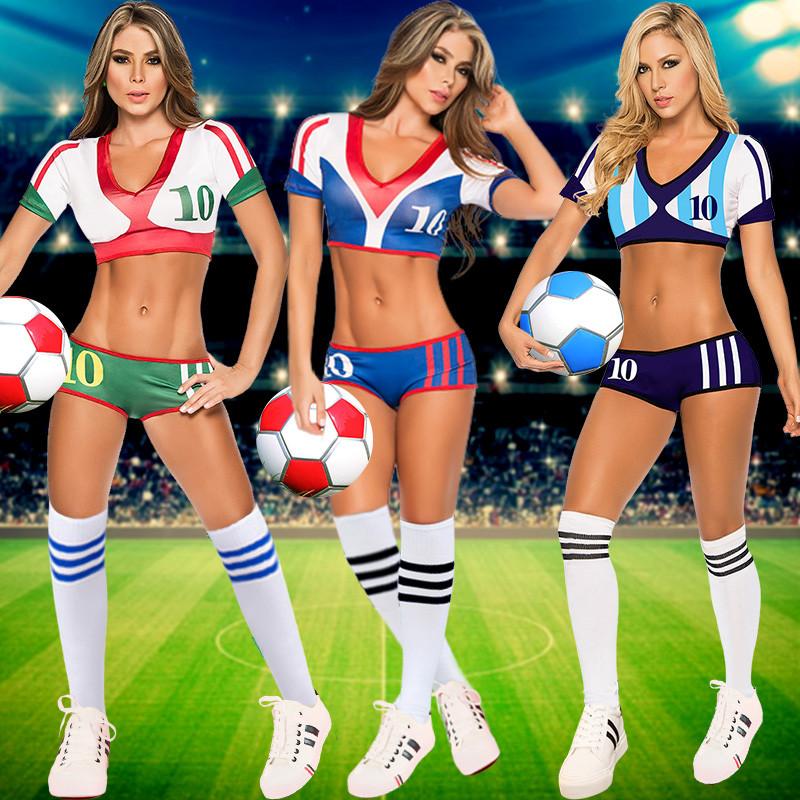 成人操guo_新款欧洲杯性感拉拉队啦啦操服装女成人足球宝贝套装团体啦啦队演出服