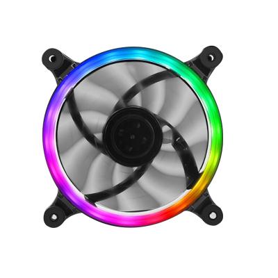 甲骨龍 炫彩七色機箱散熱風扇/12CM靜音光圈炫光機箱風扇