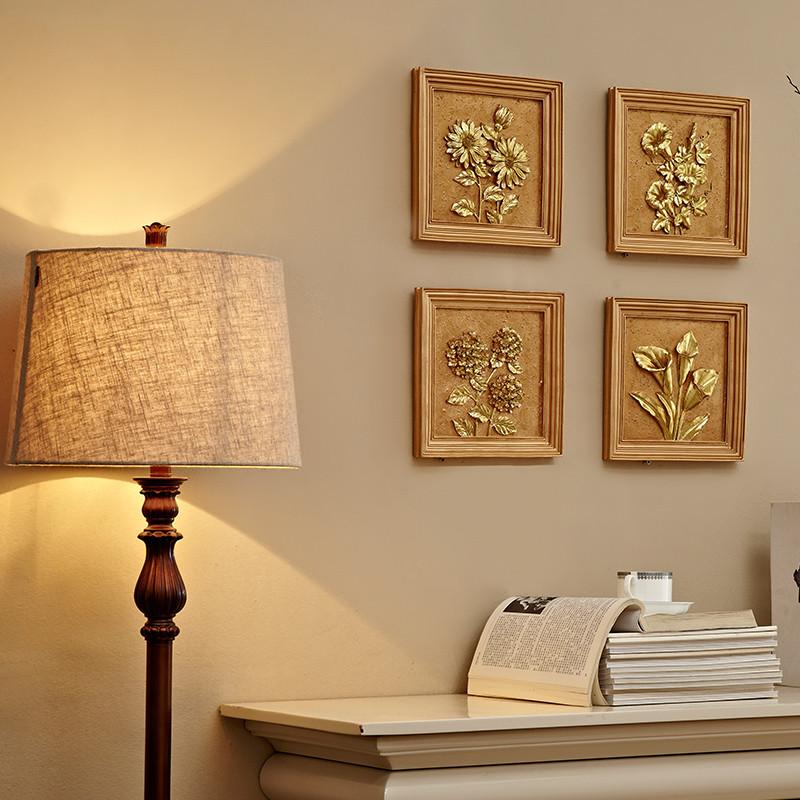 新款2018欧式客厅装饰品 沙发背景墙挂饰家居挂件卧室图片