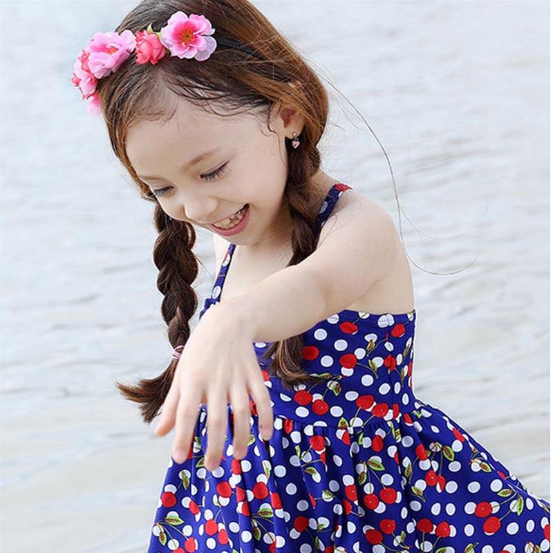 汐琪儿童泳衣分体女孩子中大小童夏季