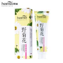 黑妹植物原香系列野菊花牙膏清新口气舒缓牙龈120g