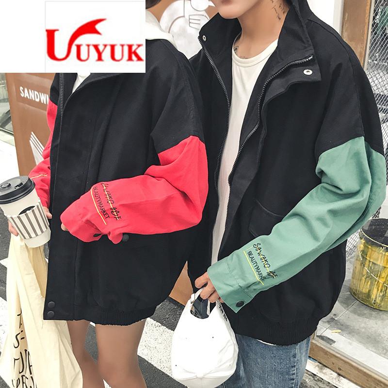 uyuk秋季外套男士学生衣服棒球服韩版夹克潮流情侣装秋装上衣学生宽松