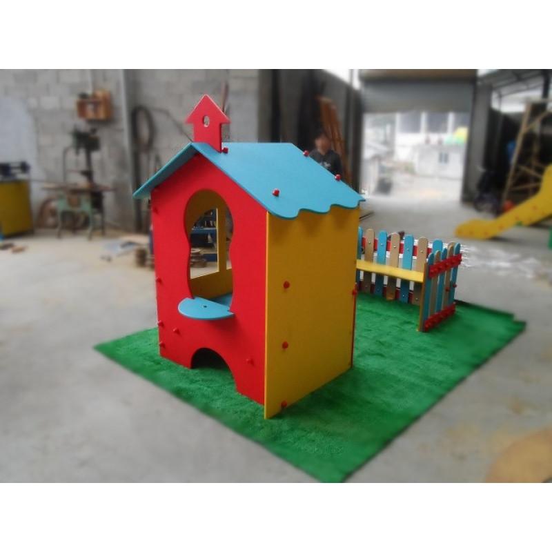 促銷金寶貝親子幼兒園 小房子 pe板塑料游戲屋 柵欄 兒童樂園