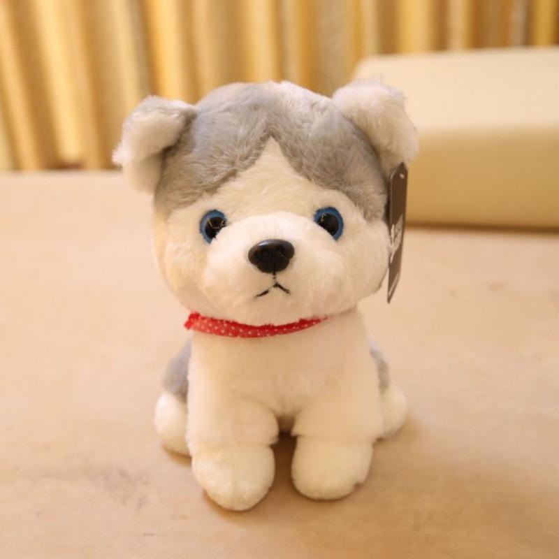 促销可爱狗狗毛绒玩具公仔卡通红色波点围巾小狗玩偶布娃娃狗年吉祥物