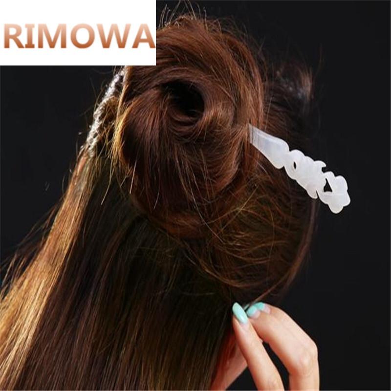 rimowa岫玉簪子 女款盘发头饰图片