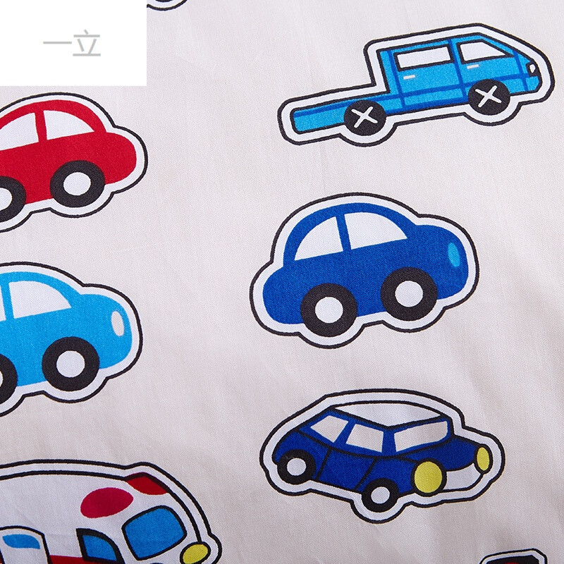 幼儿园开学卡通汽车秋冬被芯单件儿童午睡被子全棉被套