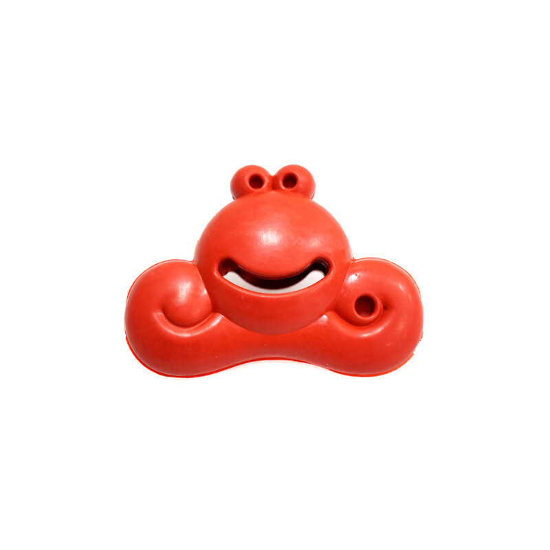 宠物玩具卡通系列青蛙蜗牛笑脸天然橡胶小狗玩具
