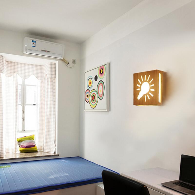 新中式壁灯现代简约卧室床头灯创意led客厅楼梯灯宾馆