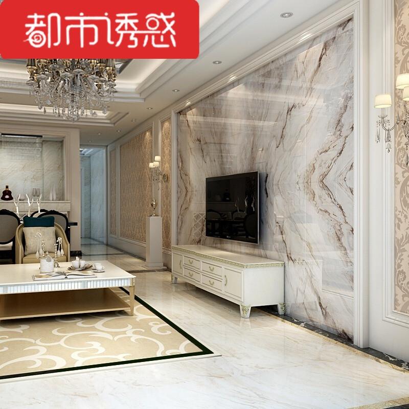 欧式瓷砖大理石背景墙3d电视高温微晶石现代简约石材背景墙边框
