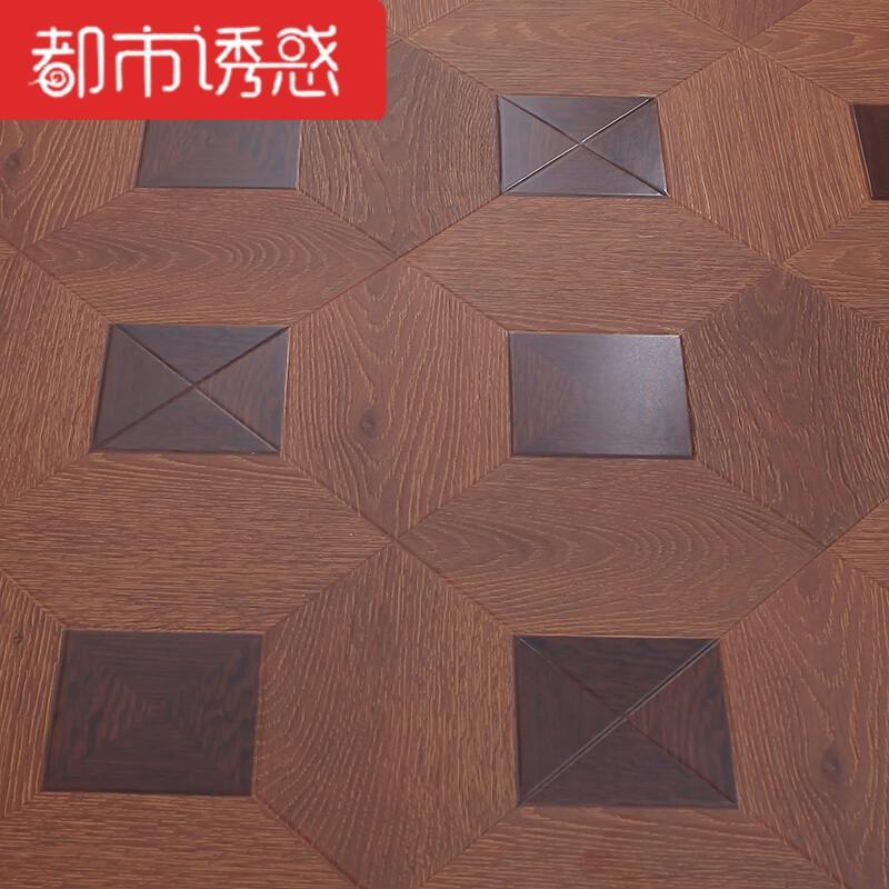 12mm强化复合复古拼花木地板仿古浮雕美式个性家用环保fl5091图片