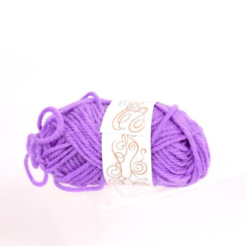 彩色毛线球毛线团儿童手工制作diy编织粘贴画娃娃头发幼儿园材