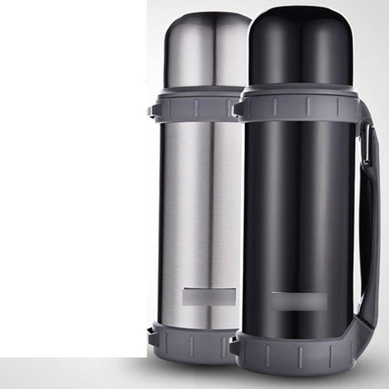大容量保温杯不锈钢保温壶户外旅行壶男水杯车载水壶.