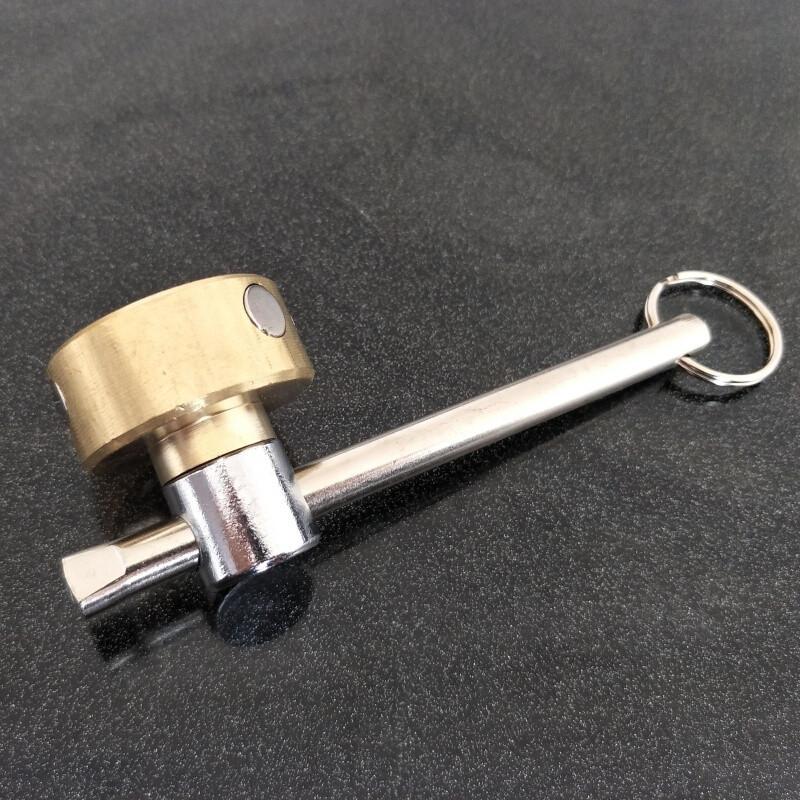 暖气阀门钥匙 一字 磁性锁闭阀开关自来水表前阀门 水表钥匙扳手 物业图片