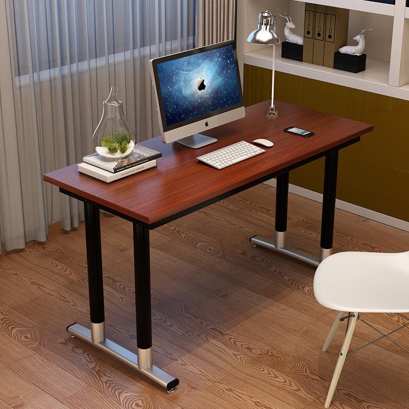 电脑桌台式家用写字台环保简约时尚书桌简易写字桌双人办公电脑桌