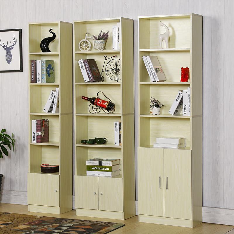 简易书柜学生小书架 格子柜简约现代落地 定制柜子木质定做储物柜
